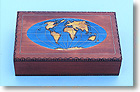 World Map Cartography Box